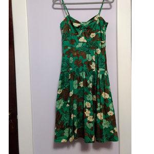 Anthropologie Dresses - Anthropologie Moulinette Soeurs Green Tea Dress